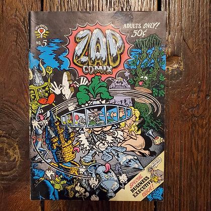 Rare ZAP #5 - Comic 1st Printing