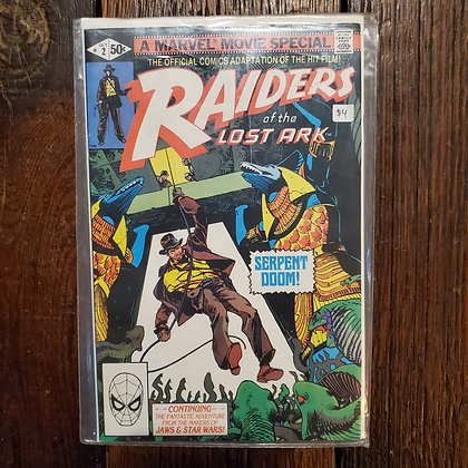 RAIDERS OF THE LOST ARK #2 - Comic Book
