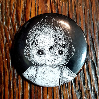 BABY MAURICE Button by @voidpuppet