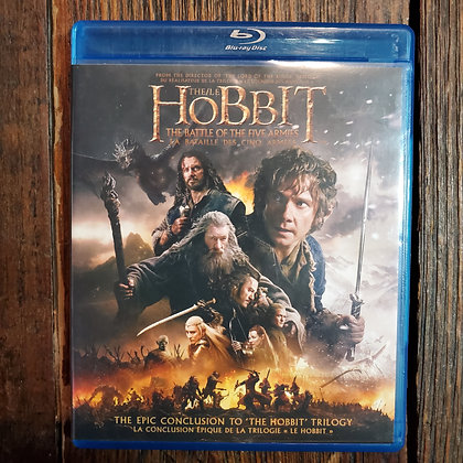 HOBBIT The Battle of The Five Armies Bluray