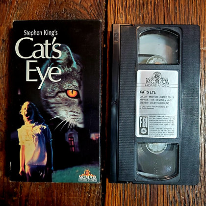 CAT'S EYE - VHS