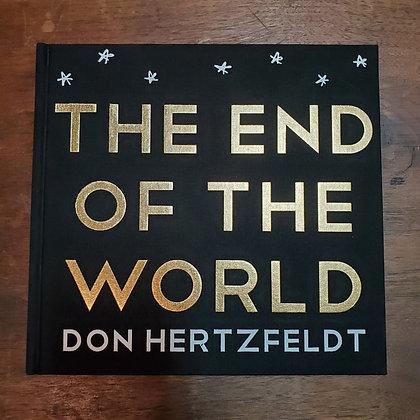 THE END OF THE WORLD - Don Hertzfeldt Hardcover