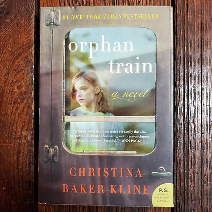 Kline, Christina Baker : ORPHAN TRAIN - Softcover Book