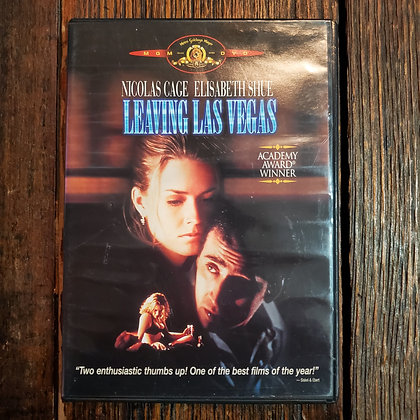 LEAVING LAS VEGAS DVD