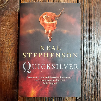 Stephenson, Neal - QUICKSILVER (Softcover)