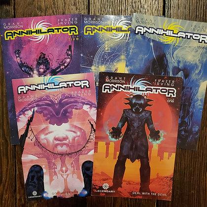 ANNIHILATOR - 5 Comic Book Deal (Grant Morrison / Frazer Irving)