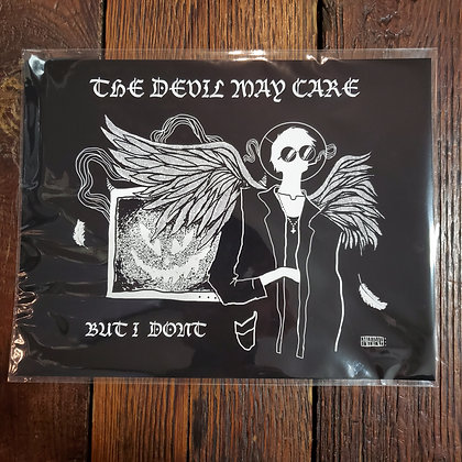 THE DEVIL MAY CARE em fatale MMXX - Art Print by Emily Dylan