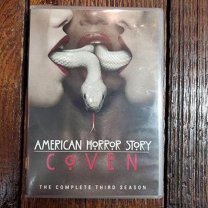 AMERICAN HORROR STORY : COVEN Season 3 - 4 DVD Set