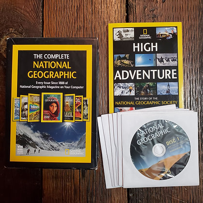 THE COMPLETE NATIONAL GEOGRAPHIC - DVD-ROM