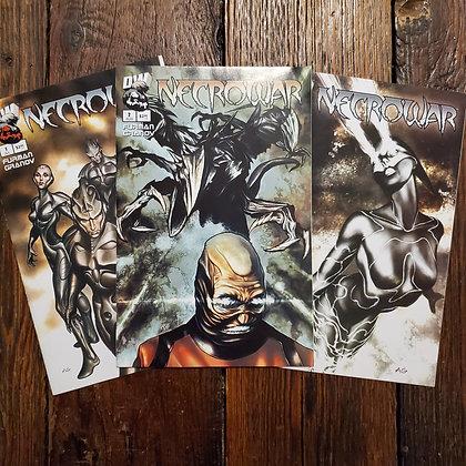 NECROWAR Comic Book 3 Pack Deal