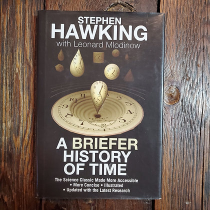 Hawking, Stephen : A BRIEFER HISTORY OF TIME - 2005 Hardcover