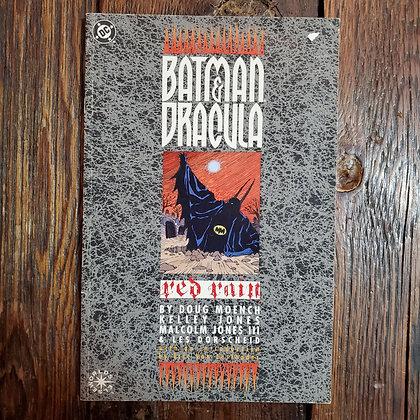 BATMAN & DRACULA : Red Rain - 1992 Graphic Novel