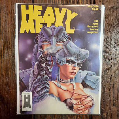HEAVY METAL Magazine - May 1984