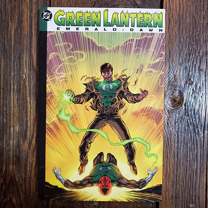 GREEN LANTERN Emerald Dawn - Graphic Novel