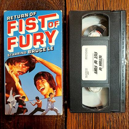 RETURN OF FIST OF FURY - VHS