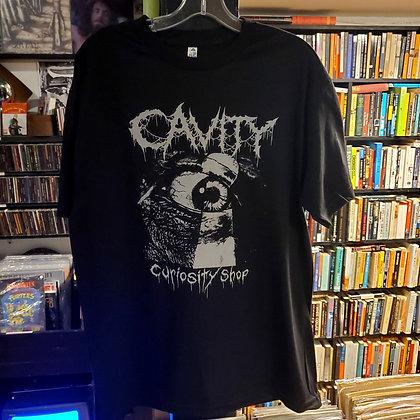 CAVITY Shirt Size Large (Logo Designed by Sarah of GUSH)