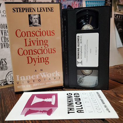 CONSCIOUS LIVING CONSCIOUS DYING VHS