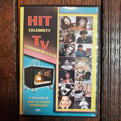 HIT CELEBRITY TV COMMERCIALS- DVD
