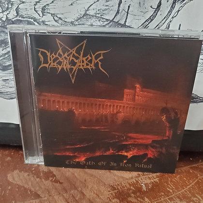 DESASTER - The Oath Of An Iron Ritual CD