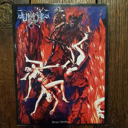 UNWORSHIP : Morgue Spirit III - Black Metal Poetry & Art Book
