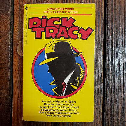 Collins  Max Allan : DICK TRACY - 1990 Paperback