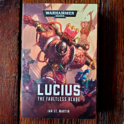 Martin, Ian st. : LUCIUS - Softcover Book