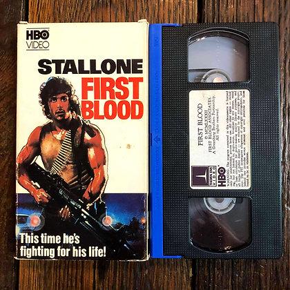 FIRST BLOOD - VHS