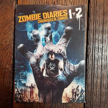 ZOMBIE DIARIES 1 & 2 - DVD
