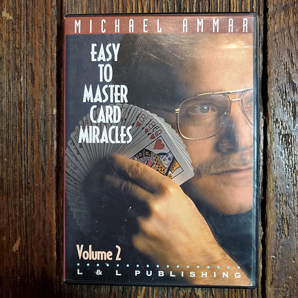 EASY TO MASTER CARD MIRACLES VOL.2 DVD