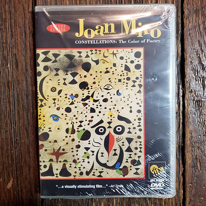 Joan Miró - Constellations The Color of Poetry DVD