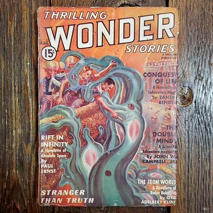 Thrilling WONDER Stories - August 1937