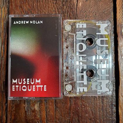ANDREW NOLAN : Museum Etiquette - Tape (2020, Absurd Exposition)