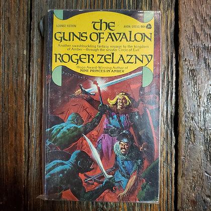 Zelazny, Roger : THE GUNS OF AVALON - 1974 1st Avon Paperback Book