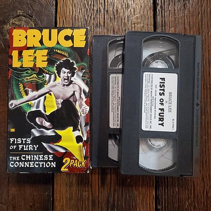 BRUCE LEE VHS 2 Pack : Fists of Fury & The Chinese Connection