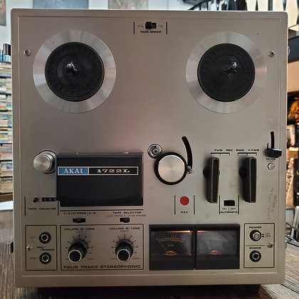 Vintage AKAI 1722L Reel to Reel (as is come view in person Fri/Sat)