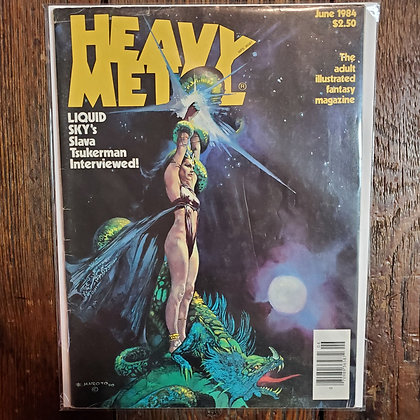 HEAVY METAL Magazine - June 1984