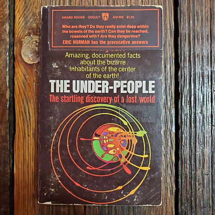 Norman, Eric : THE UNDER PEOPLE - Paperback