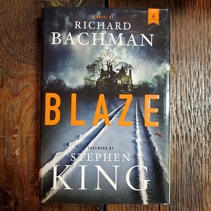 BLAZE : Stephen King, Richard Bachman - Hardcover Book