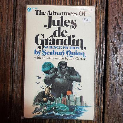 Quinn, Seabury : THE ADVENTURES OF JULES DE GRANDIN - Vintage Paperback