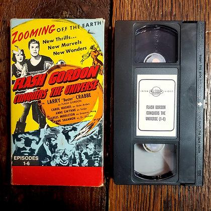 FLASH GORDON Conquers the Universe- VHS