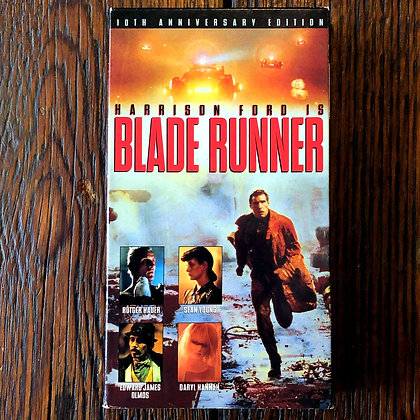 BLADE RUNNER 10th Anniversary VHS