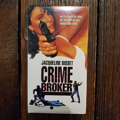 CRIME BROKER - VHS (still sealed!)