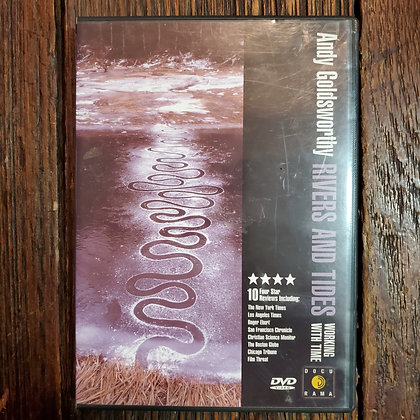 ANDY GOLDSWORTHY : RIVERS & TIDES Working with Time DVD