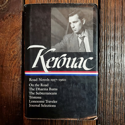 Kerouac, Jack : ROAD NOVELS - Library of America Hardcover Book (cheap reader)