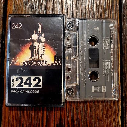 FRONT 242 : Back Catalogue - Cassette Tape