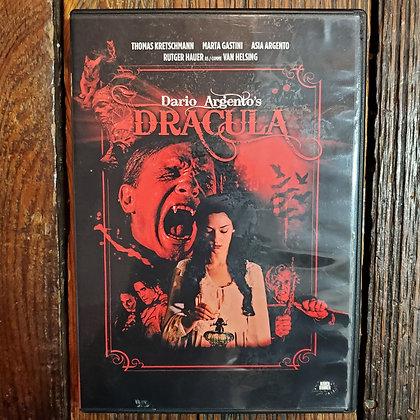 Dario Argento's DRACULA DVD