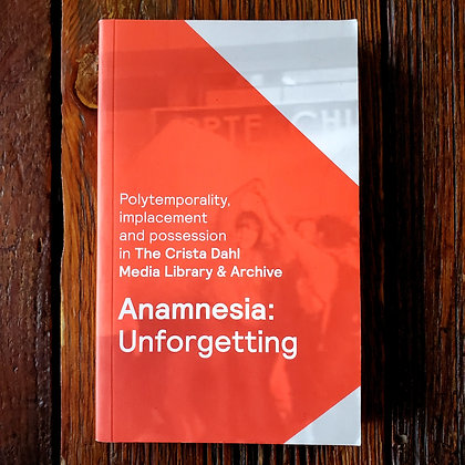 Anamnesia : Unforgetting - Paperback