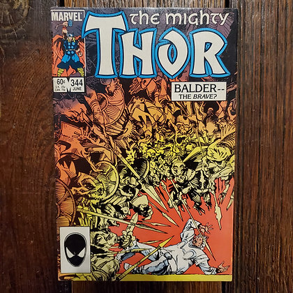 THE MIGHTY THOR #344 - Vintage Comic Book