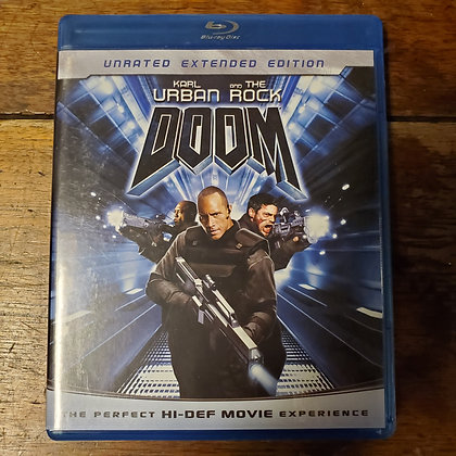 DOOM unrated extended edition - Bluray