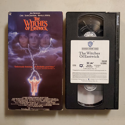 THE WITCHES OF EASTWICK - VHS